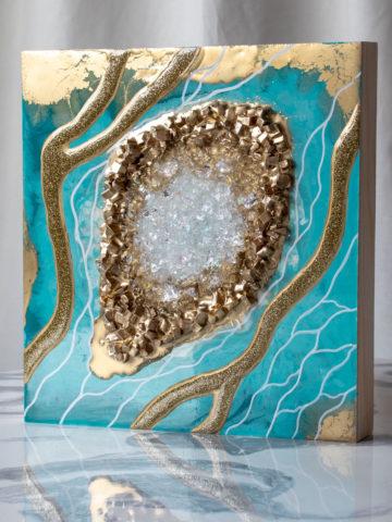 Картина Geode, коллекция Срез камня (Арт.30106)