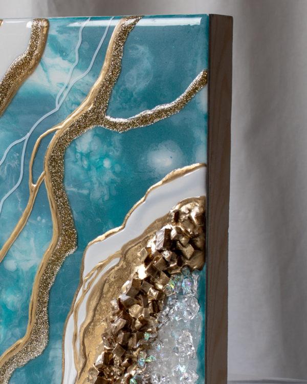Картина Geode, коллекция Срез камня (Арт.30107)