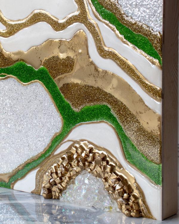 Картина Geode, коллекция Срез камня (Арт.30108)