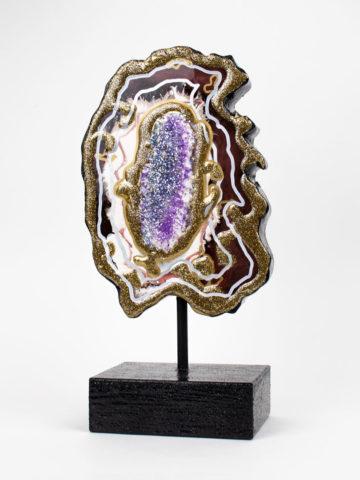 Декоративная фигура Срез камня (Арт.20138)