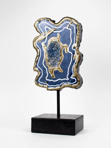 Декоративная фигура Срез камня (Арт.20139)