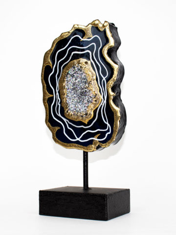Декоративная фигура Срез камня (Арт.20110)
