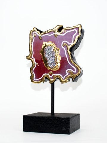 Декоративная фигура Срез камня (Арт.20111)