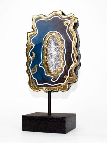 Декоративная фигура Срез камня (Арт.20115)