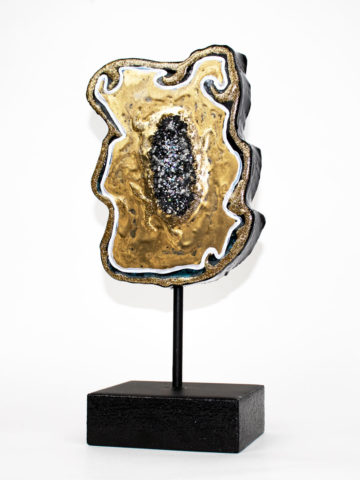 Декоративная фигура Срез камня (Арт.20116)