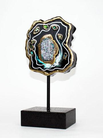 Декоративная фигура Срез камня (Арт.20118)