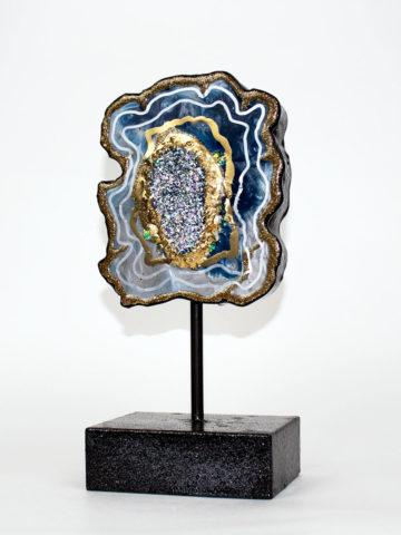 Декоративная фигура Срез камня (Арт.20119)