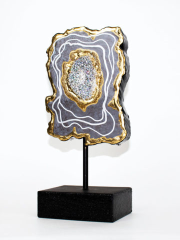 Декоративная фигура Срез камня (Арт.20120)