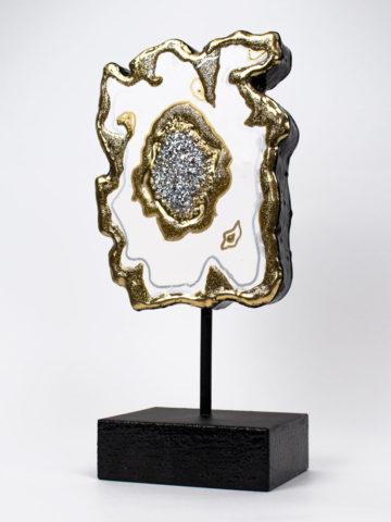 Декоративная фигура Срез камня (Арт.20104)