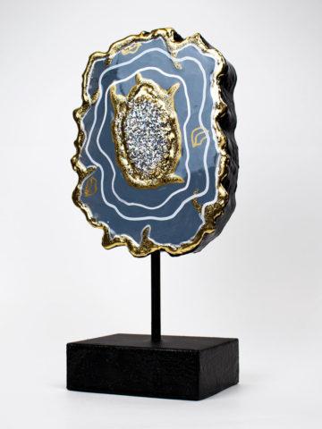 Декоративная фигура Срез камня (Арт.20105)