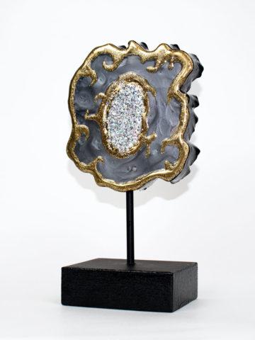 Декоративная фигура Срез камня (Арт.20107)