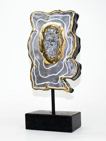 Декоративная фигура Срез камня (Арт.20109)