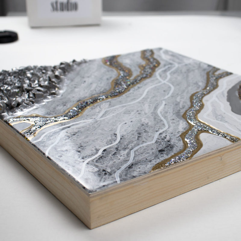Картина Geode, коллекция Срез камня (Арт.30133)