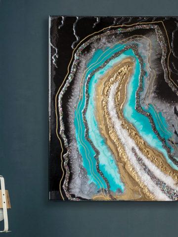Картина Geode, коллекция Срез камня (Арт.35701)