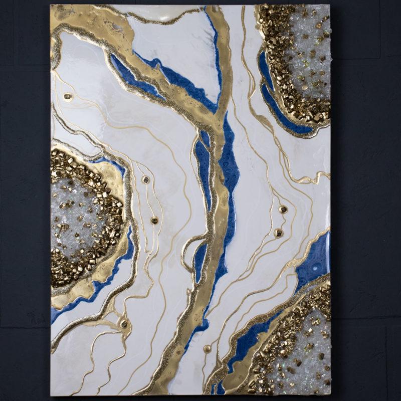 Картина Geode, коллекция Срез камня (Арт.35704)