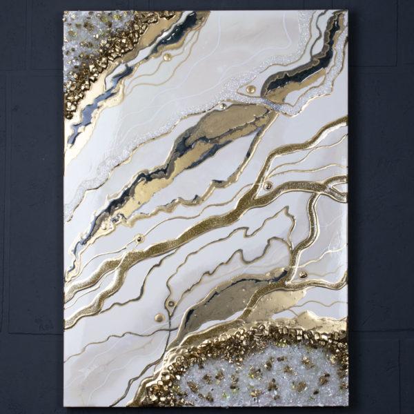 Картина Geode, коллекция Срез камня