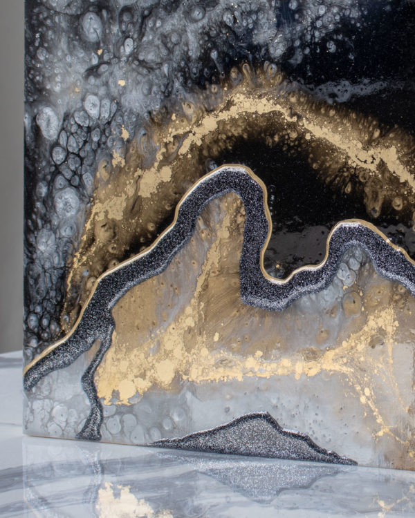 Картина Geode, коллекция Срез камня (Арт.34501)