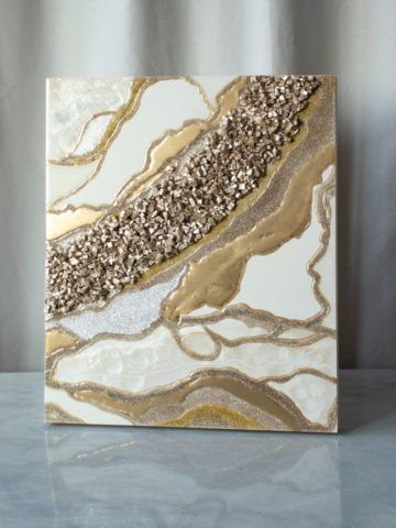 Картина Geode, коллекция Срез камня (Арт.34503)