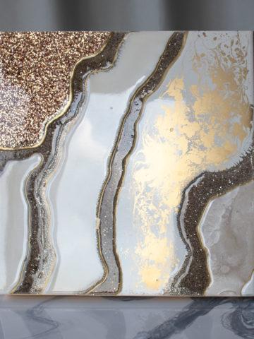 Картина Geode, коллекция Срез камня (Арт.30115)