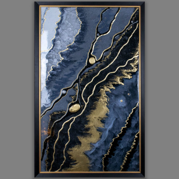 Картина Geode из эпоксидной смолы