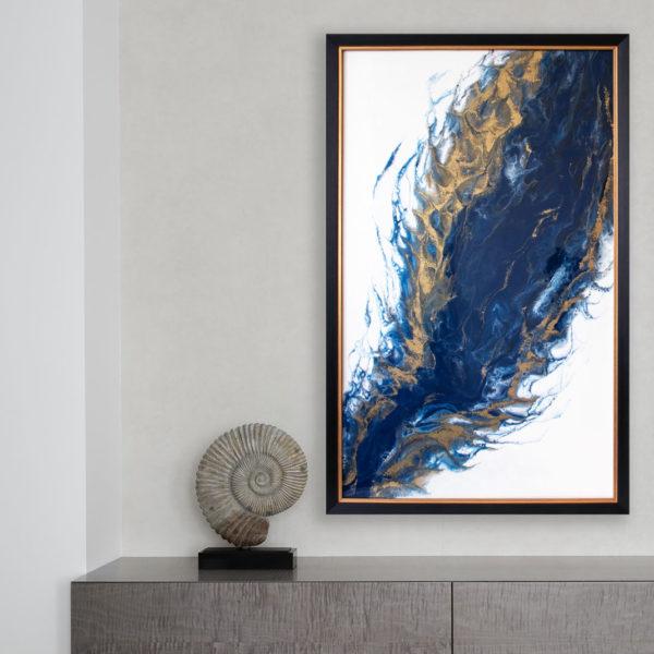 Картину купить абстракция срез камня.