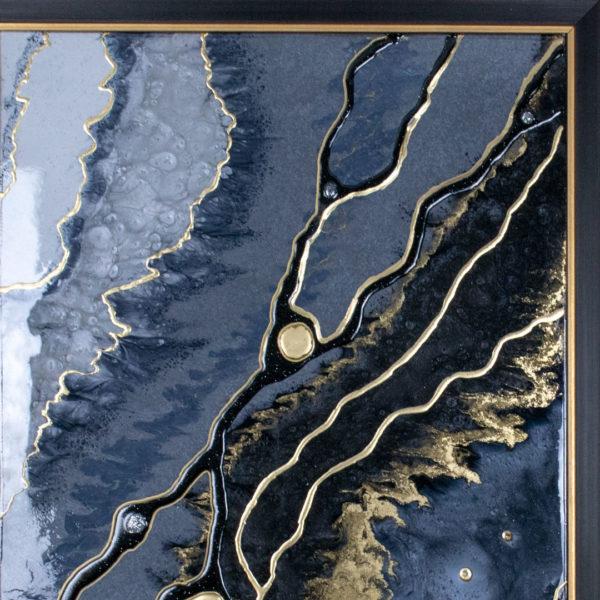 Картина Geode из эпоксидной смолы купить
