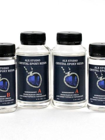 Ювелирная эпоксидная смола Crystal Epoxy Resin, 540 г