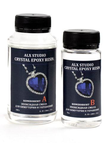 Ювелирная эпоксидная смола Crystal Epoxy Resin, 270 г