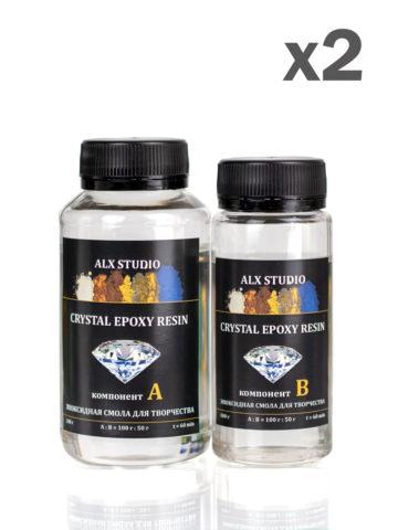 Эпоксидная смола для рисования Crystal Epoxy Resin, 600 г