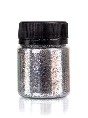 Глиттер серебро для декорирования