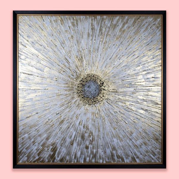 Панно на стену - Абстракция с камнями