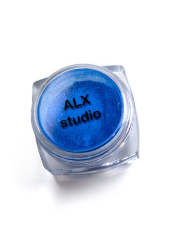 Перламутр жемчужно-синий-10мл.
