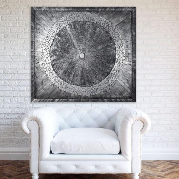Декоративное панно на стену в багете