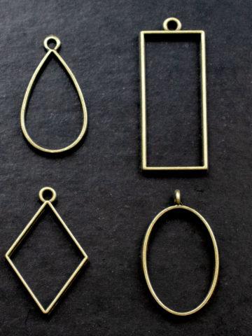 Металлические основы для кулонов