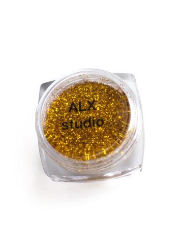 Глиттер золото mini