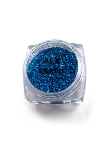 Глиттер светло синий mini