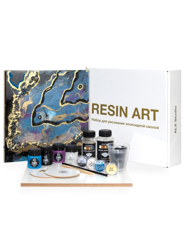 Набор для рисования эпоксидной смолой в технике Resin Art