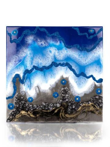 Картина Абстракция 30×30 см