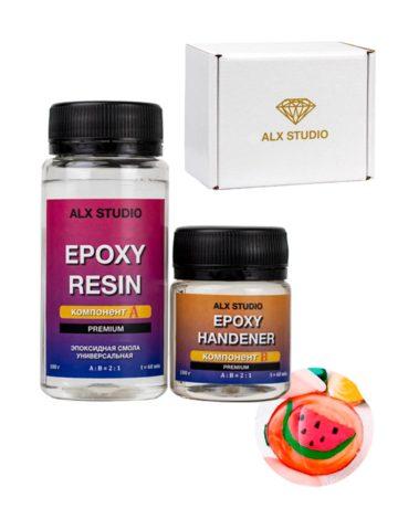 Ювелирная эпоксидная смола Crystal Epoxy Resin, 150 г -ALX236